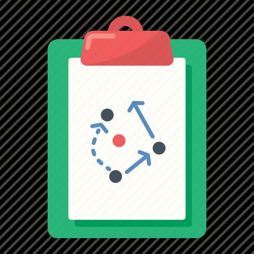 board, football, soccer, strategy icon