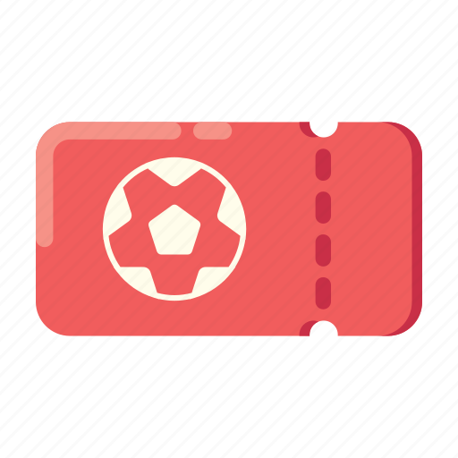 football, hooligan, soccer, supporter, ticket icon