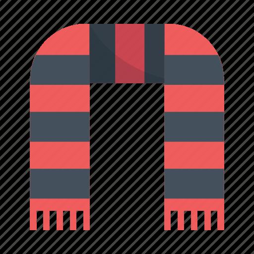 football, hooligan, scarf, shawl, supporter, ultras icon