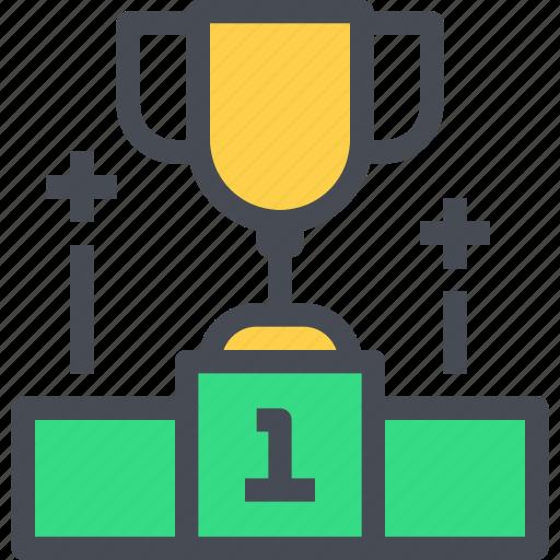 cup, football, soccer, sport, success, winner icon