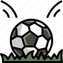 ball, football, outdoor, play, practice, soccer, sport icon