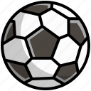 ball, equipment, football, game, play, soccer, sport icon