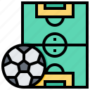 field, ground, outdoor, pitch, sport