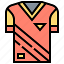 clothes, football, shirt, sportswear, uniform icon