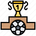 cup, football, trophy, victory, winner icon