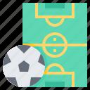 field, ground, outdoor, pitch, sport icon