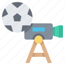 broadcast, entertainment, live, record, video icon