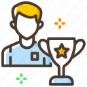 best, game, sport, trophy, winner icon