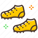 football, game, shoe, soccer, sports, sports shoe icon