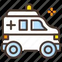 ambulance, emergency, hospital, transport icon