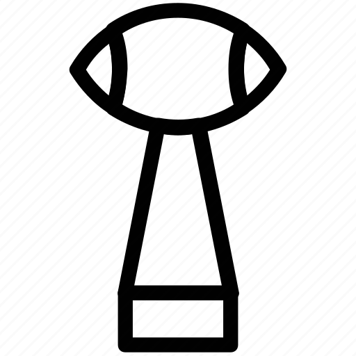 award, cup, rugby, sports, trophy icon