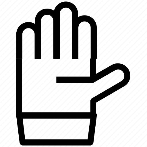 hand, hand signal, referee hand, umpire hand icon