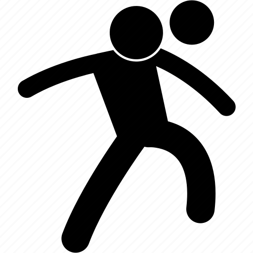 Ball, football, head, heading, jumping, player, soccer icon - Download on Iconfinder