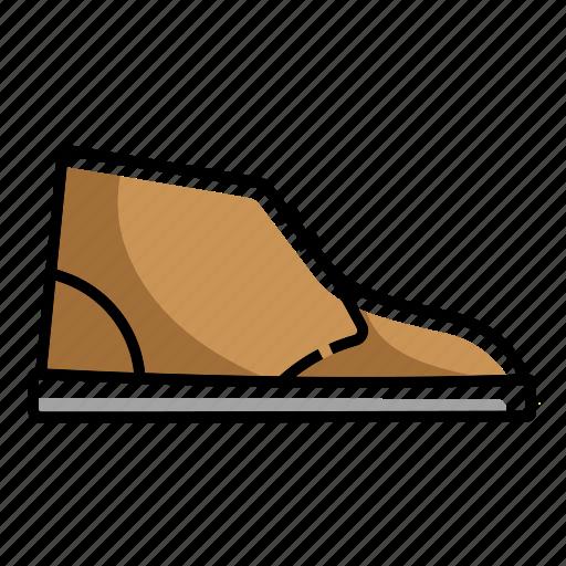 boot, boots, chukka, chukka boot, desert boots, foot wears, shoes icon