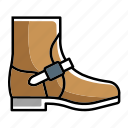 boot, boots, engineer, engineer boot, foot wears, safety boots, shoes icon