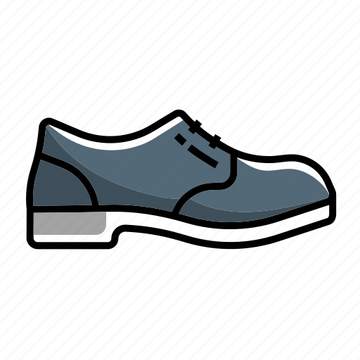 boot, boots, fashion, foot wears, oxford, shoes, work, work oxford boot icon