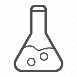 development, flask, lab, laboratory, research, science, test tube icon