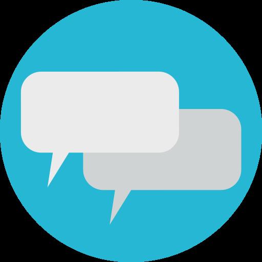 communicate, conversation, speak, talk icon