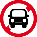 car, drive, driving, forbidden, prohibited icon
