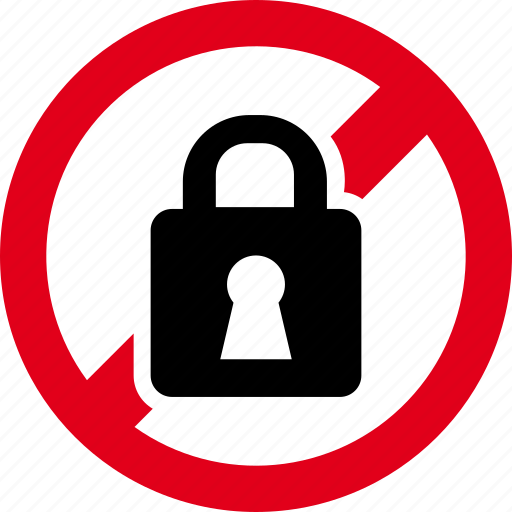 closed, forbidden, lock, prohibited, security icon