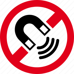 forbidden, magnet, magnetic, prohibited icon