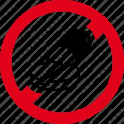 drugs, forbidden, lozenge, medicines, pill, prohibited, tablet icon