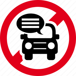 conversation, drive, forbidden, prohibited, text, texting icon