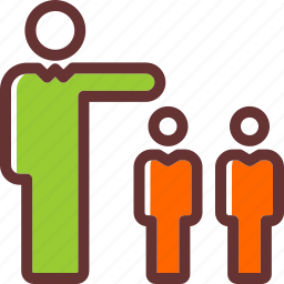 group, management, peoples, referals, referrer, team, users icon