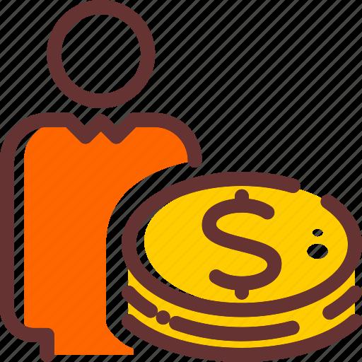 bank, cash, credit, forex, investor, money, trading icon