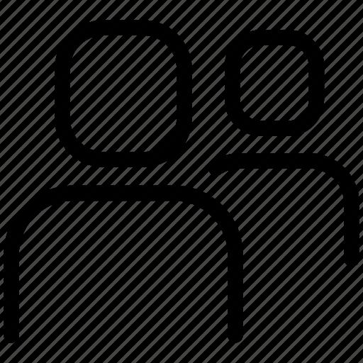 group, profile, user icon