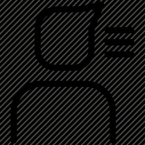 list, profile, user, user list icon