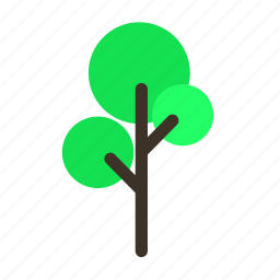 big, forestry, forrest, plant, tree, trees, young icon