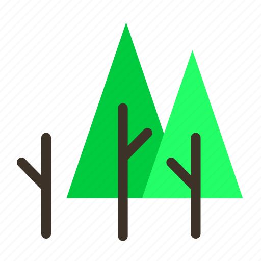 branch, forestry, forrest, pine, tree, trees icon