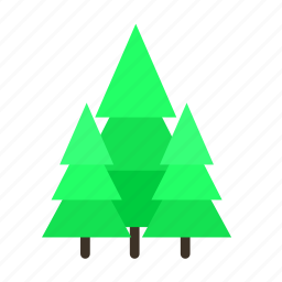 forestry, forrest, fresh, nature, pine, tree, trees icon