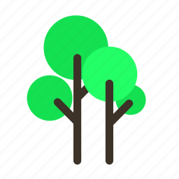 forestry, forrest, nature, pine, tree, trees, tropic icon