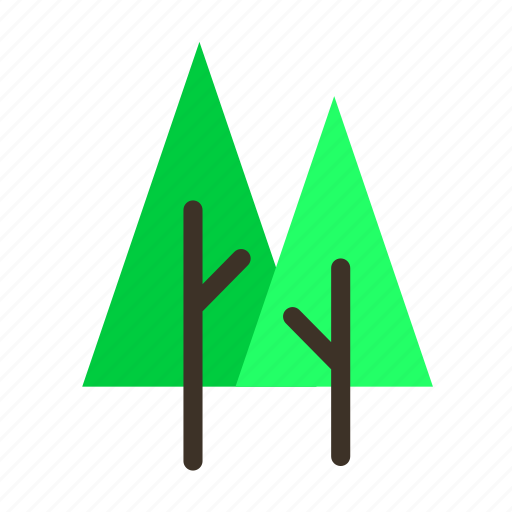 branch, couple, forestry, forrest, pine, tree, trees icon