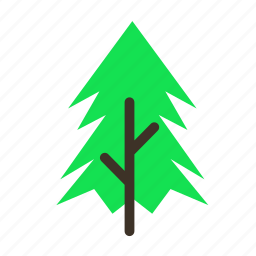 forestry, forrest, pine, plant, spike, tree, trees icon