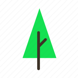 forestry, forrest, pine, plant, tree, trees, young icon