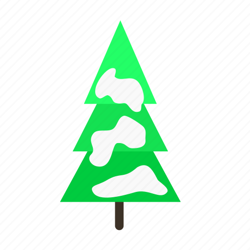 forestry, forrest, pine, snow, tree, trees icon