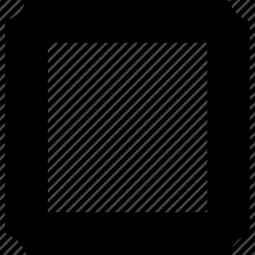 design, frame, image, label, photo, picture, square icon