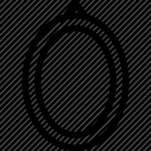 design, digital, frame, image, label, oval, photo icon