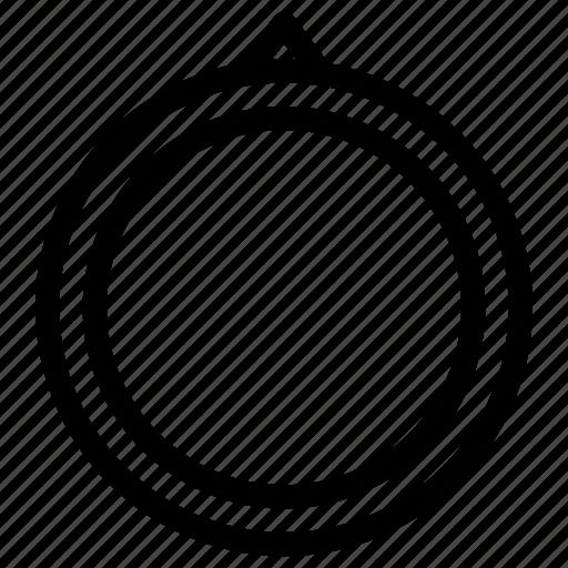 design, frame, image, label, photo, picture, round icon