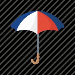colorful, france, landmark, object, paris, umbrella icon