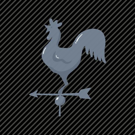 cock, colorful, farm, france, landmark, object, paris icon