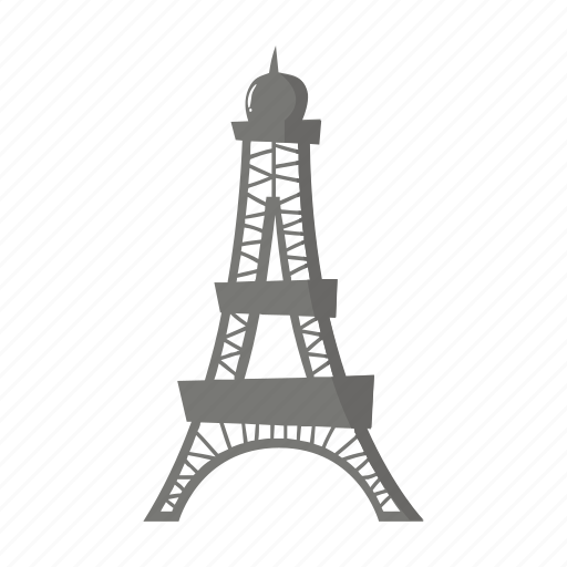 colorful, eiffel, france, landmark, object, paris, tower icon