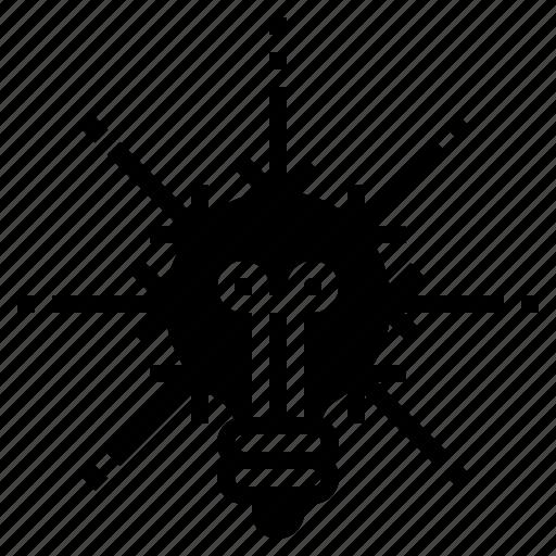 concept, core, focus, idea, main, thought icon