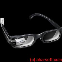boss, glasses, google, googleglass icon