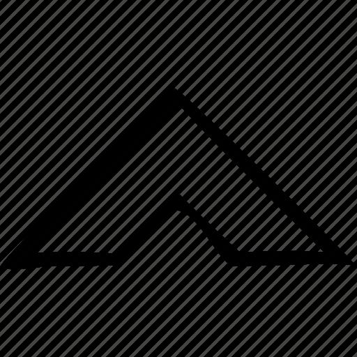 arrow, chevron, top, up, upward icon