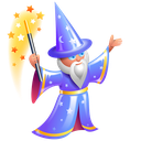 conjure, conjurer, help, magician, wizard icon