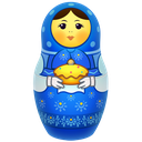 icojam, matreshka, matrioshka, mother, russia, souvenir, toy icon